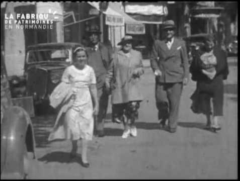 Promenade au cours des années trente