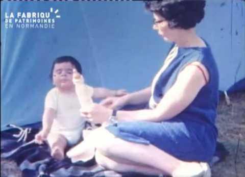 Enfance et vacances au cours des années soixante