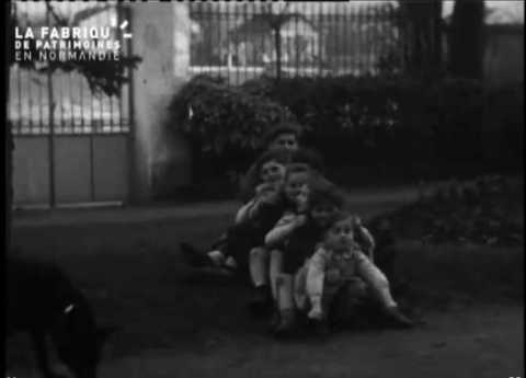 1947-1948, rires en famille