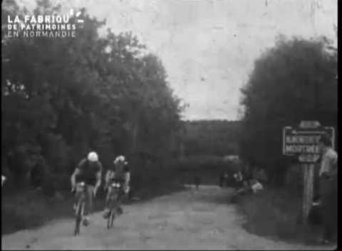 Course cycliste dans l'Orne