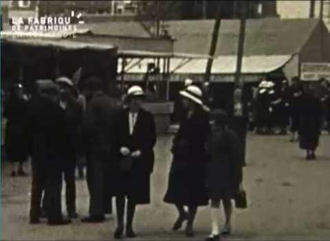 Caen et Deauville en 1936 et 1937