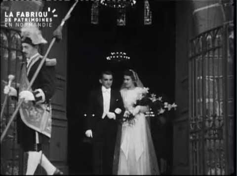 1939, mariage de Louisette et Charles