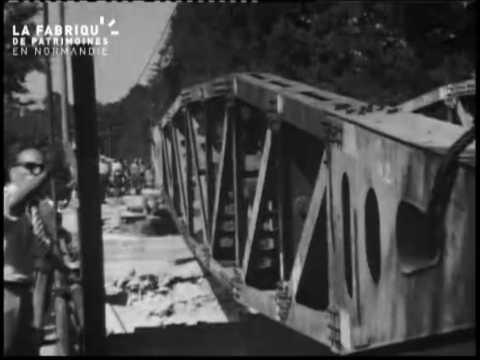 Après-guerre à Pont d'Ouilly