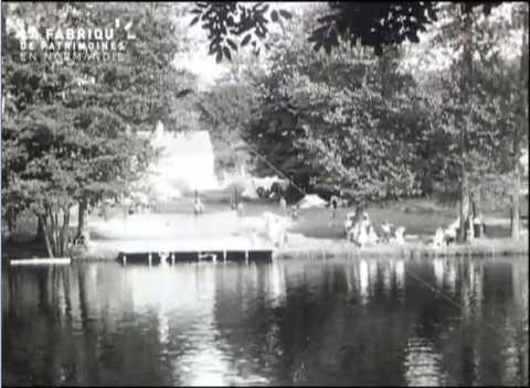 1958, au bord de la rivière