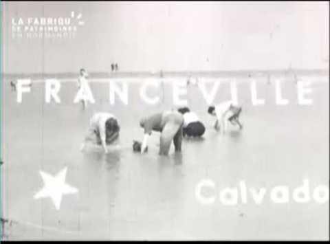 1953, vacances à Franceville, Cabourg et Honfleur