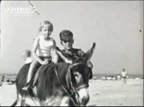 1954, Trouville-sur-mer