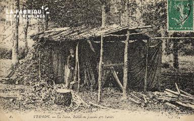 Forêt de VERNON bucherons