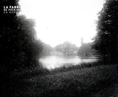 B001 Saint Lo 1903 Plan d'eau de la région.