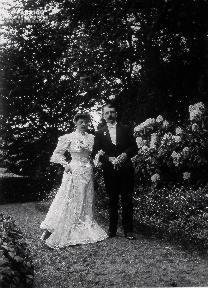 B004 Portrait couple de mariés