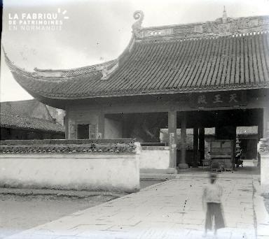 B015 La Chine La pagode