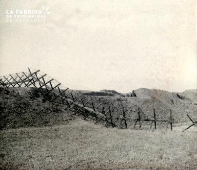 B015 Une tranchée de la guerre 14-18