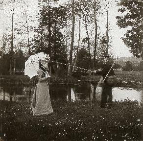 B020 Quotidien couple à la pêche