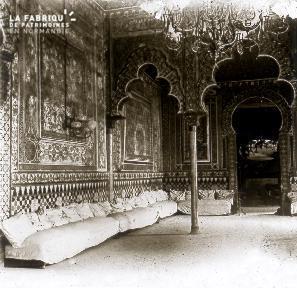 B027 Inde interieur d'un palais