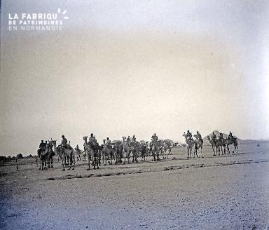 B038 Afrique Méharistes 1 1925