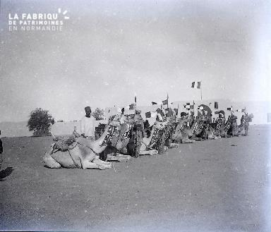 B038 Afrique Méharistes 3 1925
