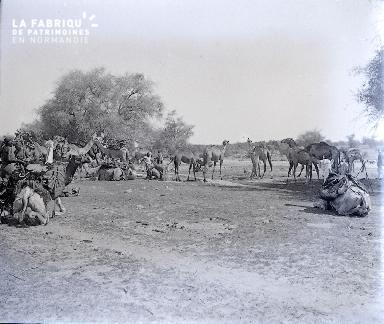B038 Afrique Méharistes 4 1925
