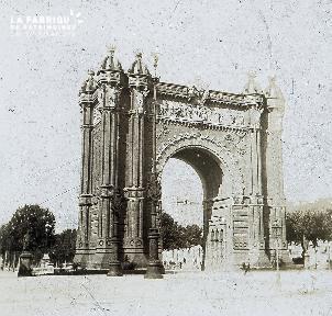 B047 Rome l'Arc de Triomphe