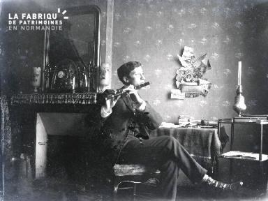 B077 Le joueur de flûte