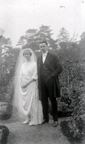 B086 Couple de mariés