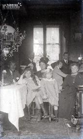 C009 Portrait de famille intérieur