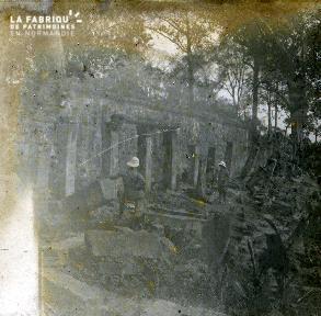 Cambodge Temple Fouilles