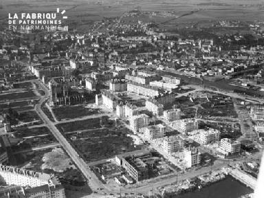 Vue d'ensemble aux alentours de St jean en1952