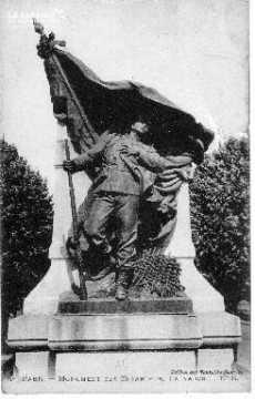 Caen - Monument des enfants du Calvados