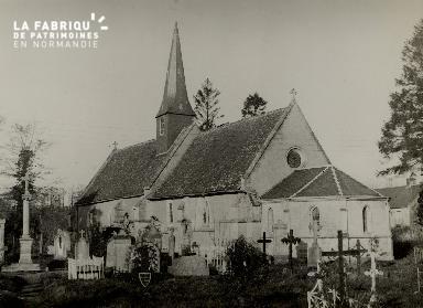 Vue d'une église 02