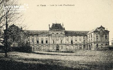 Caen, Ecole Normale d'Déposant : instituteurs