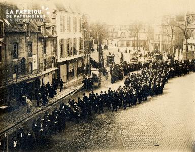 Caen, enterrement d'un doyen de l'université