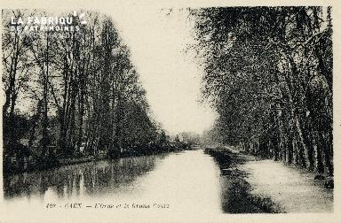 Caen, l'Orne et le Grand Cours