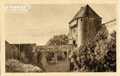 Caen, la caserne du château