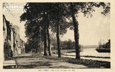 Caen, le canal de Caen à la mer