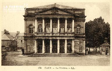 Caen, le théâtre