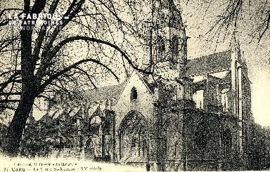 Caen, le vieux Saint-Etienne (XVè siècle)