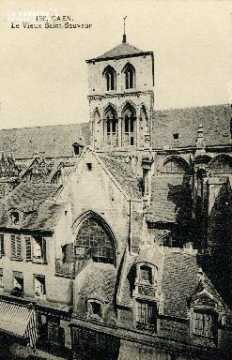 Caen, le vieux Saint-Sauveur