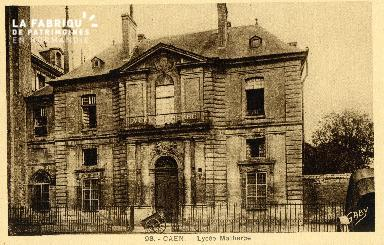 Caen, lycée Malherbe 01