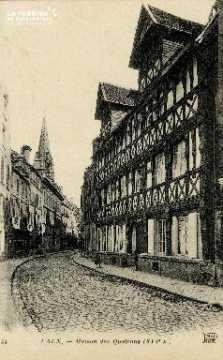 Caen, maison des Quatrans (XVIè siècle)