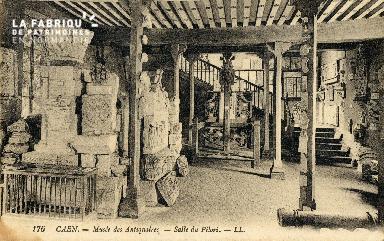 Caen, Musée des Antiquaires, salle du Pilori