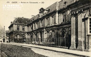 Caen, palais de l'Université