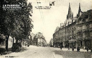 Caen, place de l'Ancienne Boucherie