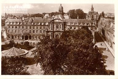 Caen, place de la République