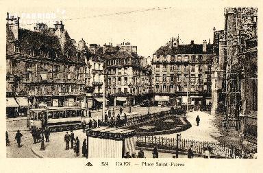 Caen, place Saint-Pierre