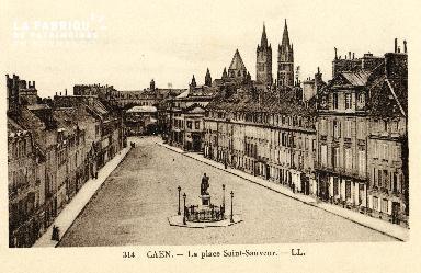 Caen, place Saint-Sauveur