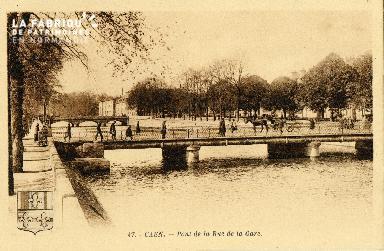 Caen, pont de la rue de la Gare