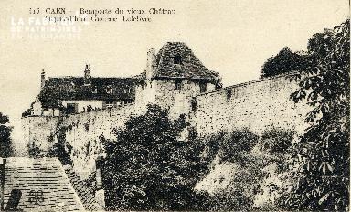 Caen, remparts du vieux château