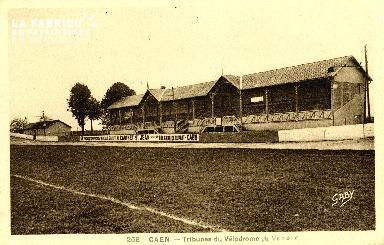 Caen, tribunes du Vélodrome de Venoix