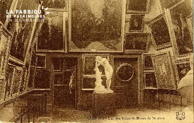 Caen, une des salles du musée de peinture