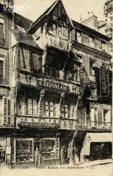 Caen, vieille maison rue Saint-Jean