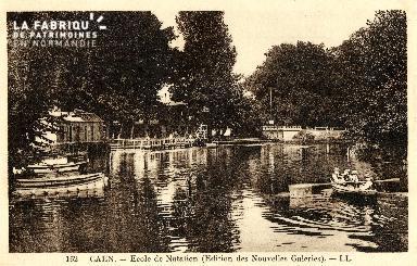 Caen, école de natation 01